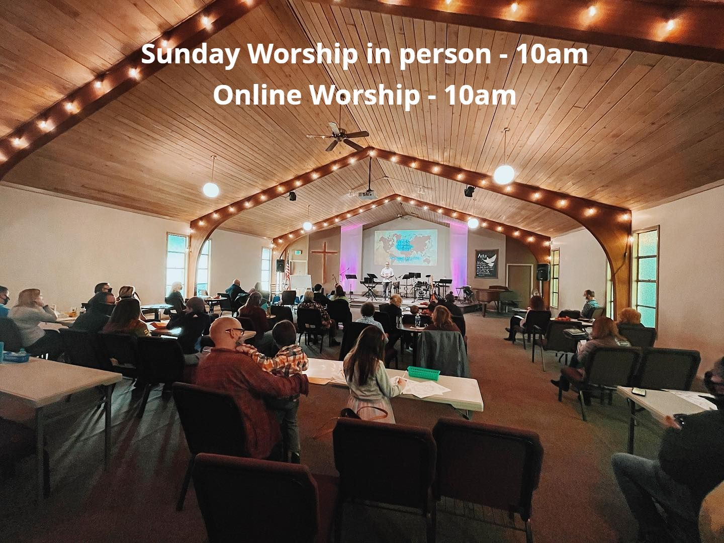 Sunday Worship in person - 9am and 11am