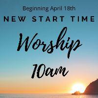 New Sunday Service Time