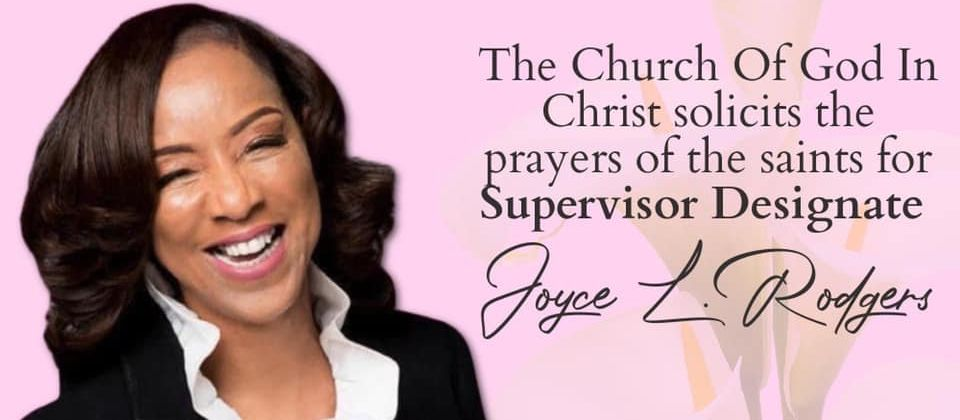 Prayers for Supervisor-Designate Joyce L. Rodgers
